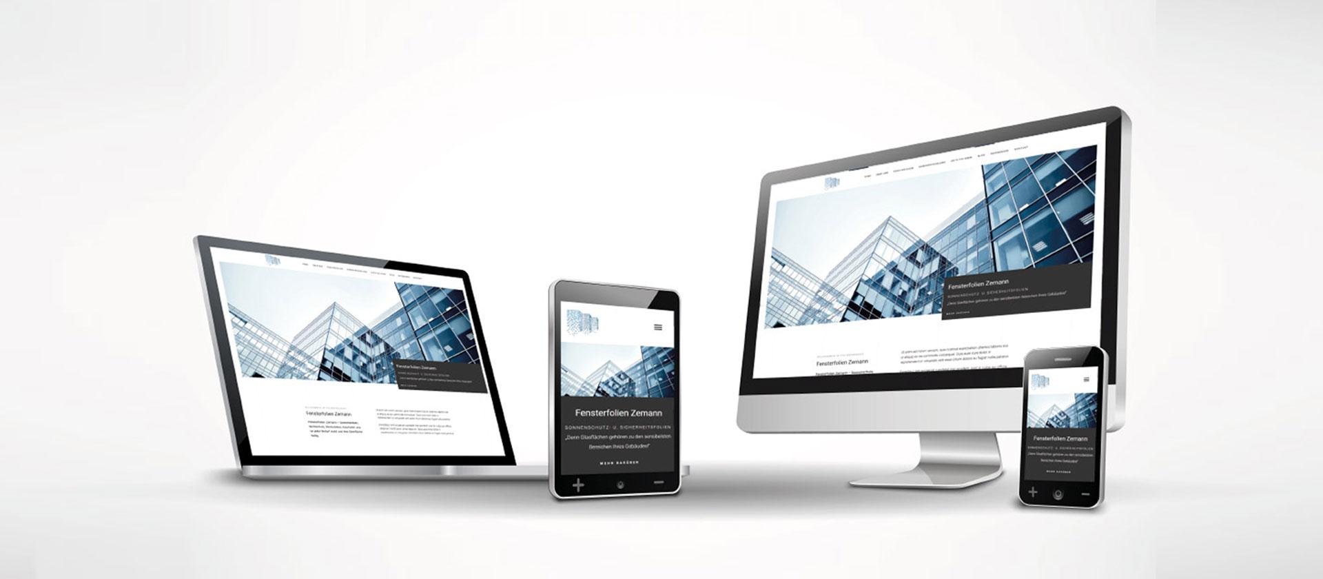 Redesign Fensterfolien Zemann | webundwerbung.at