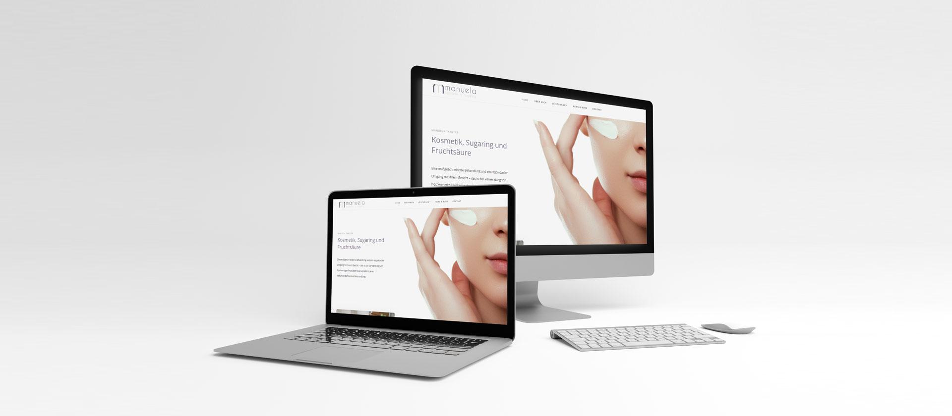 Manuela Kosmetik hat eine neue Webseite | webundwerbung.at