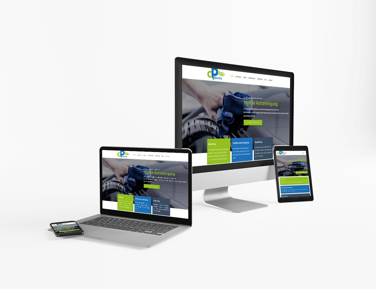 Die Webseite von Cleaning Point ist online