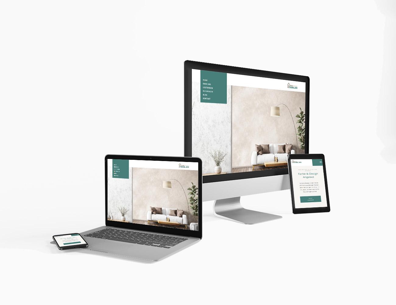 Redesign Farbe & Design Dobler | webundwerbung.at