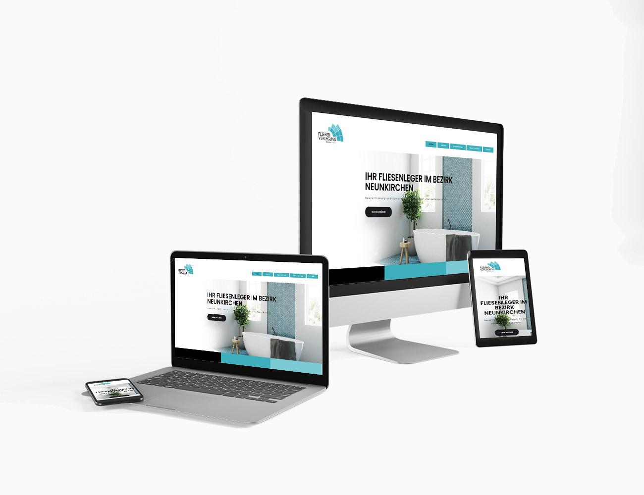 Fliesen Leitner hat eine neue Webseite