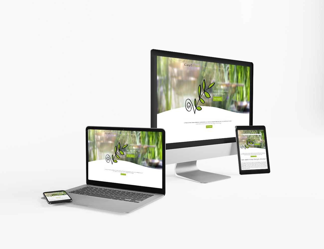Die Webseite von Klang & Kräuter ist online