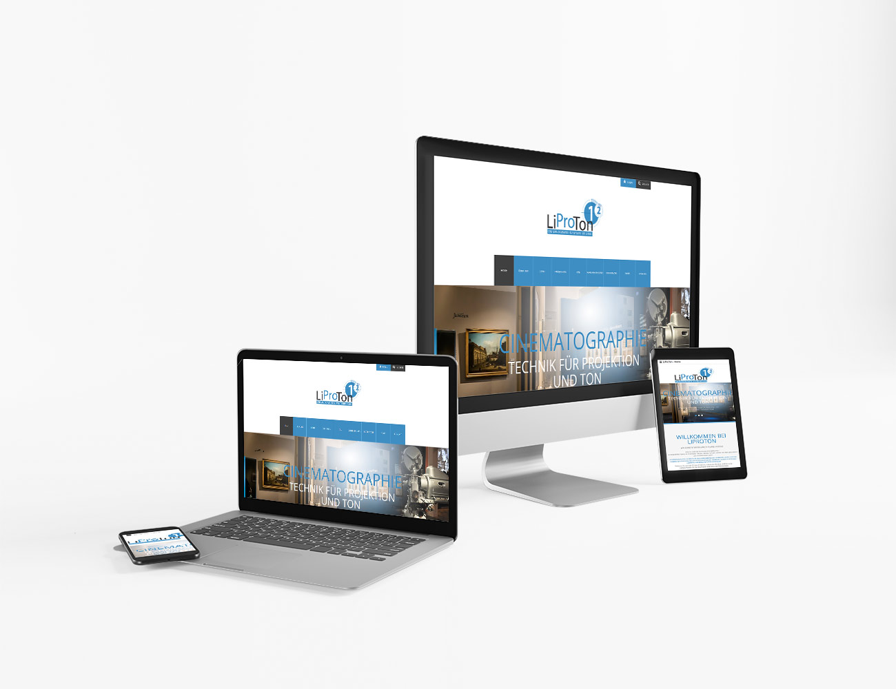 Die Webseite von LiProTon ist online | webundwerbung.at