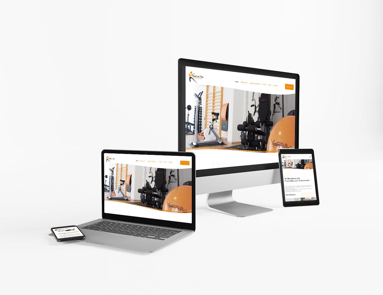 Die Webseite von Physiotherapie Prandstetter ist online