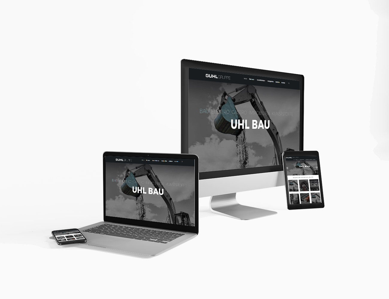 Neuer Onlineauftritt für die UHL Gruppe | webundwerbung.at